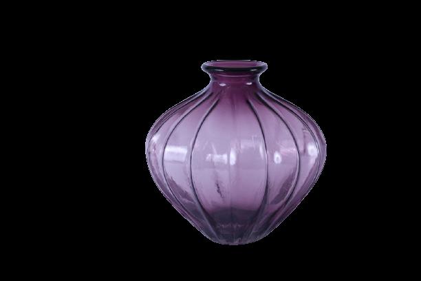 Vaso de Vidro Marsala 20cm