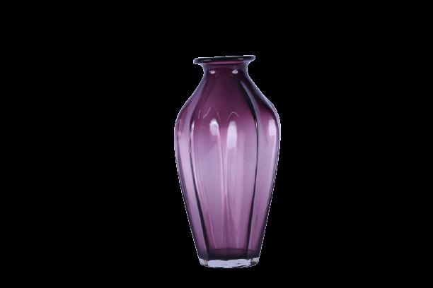 Vaso de Vidro Marsala 32,5cm