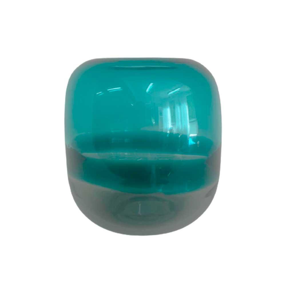 Vaso de Vidro Mirage Verde 17cm