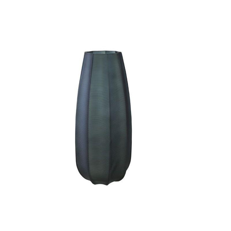 Vaso Decorativo de Vidro 35cm Verde