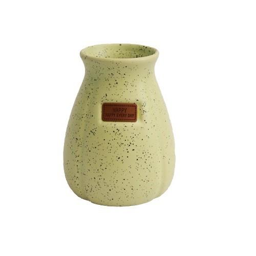 Vaso Decorativo em Cerâmica Granilite Verde
