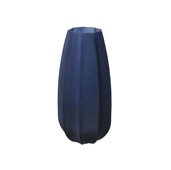Vaso Decorativo em Vidro Azul 27cm 13D Vol.18