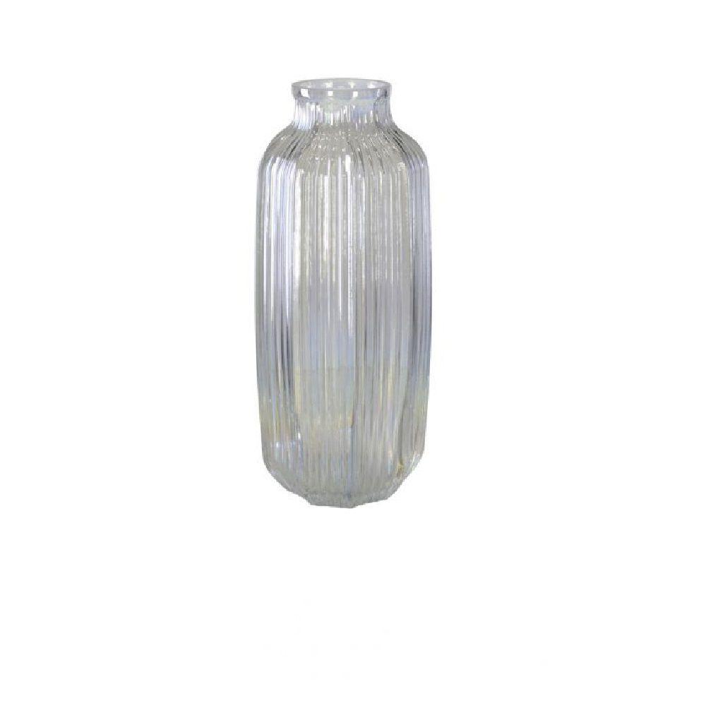 Vaso Decorativo em Vidro Pérola Holográfico 31cm