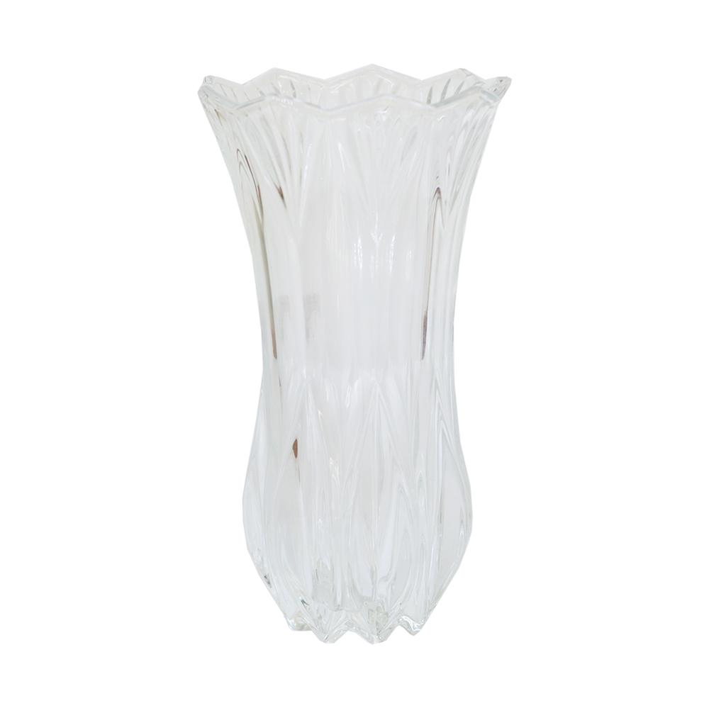 Vaso em Vidro Transparente 23cm