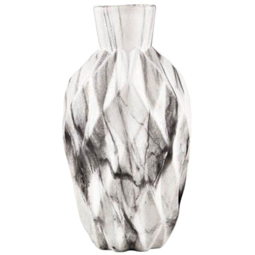 Vaso Marmorizado em Cerâmica 13cm