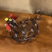 Porta Ovos de Arame