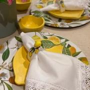 Sousplat de Limão Siciliano