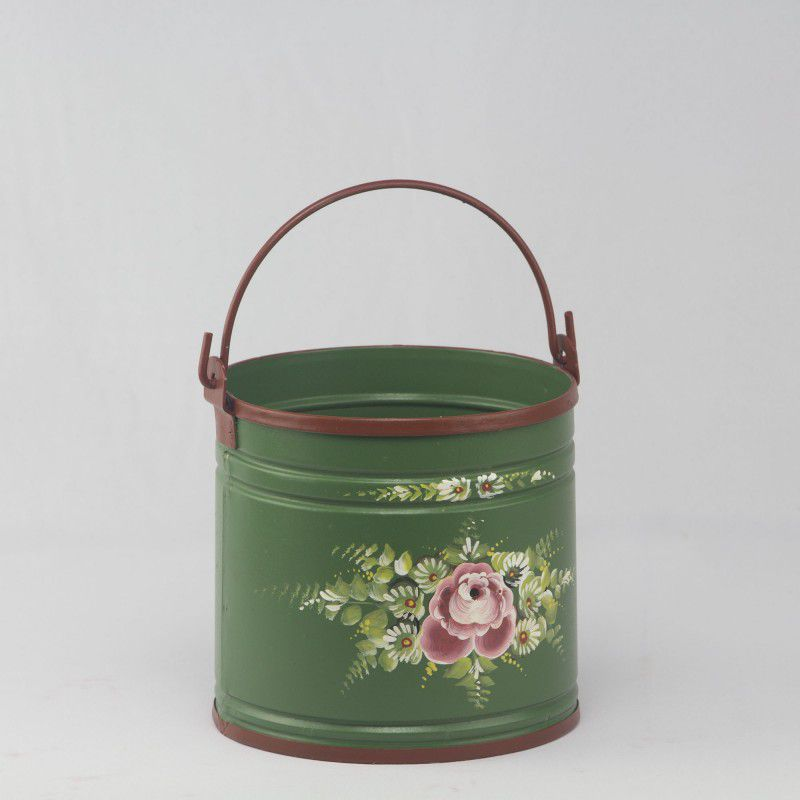 Baldinho decorativo Floral