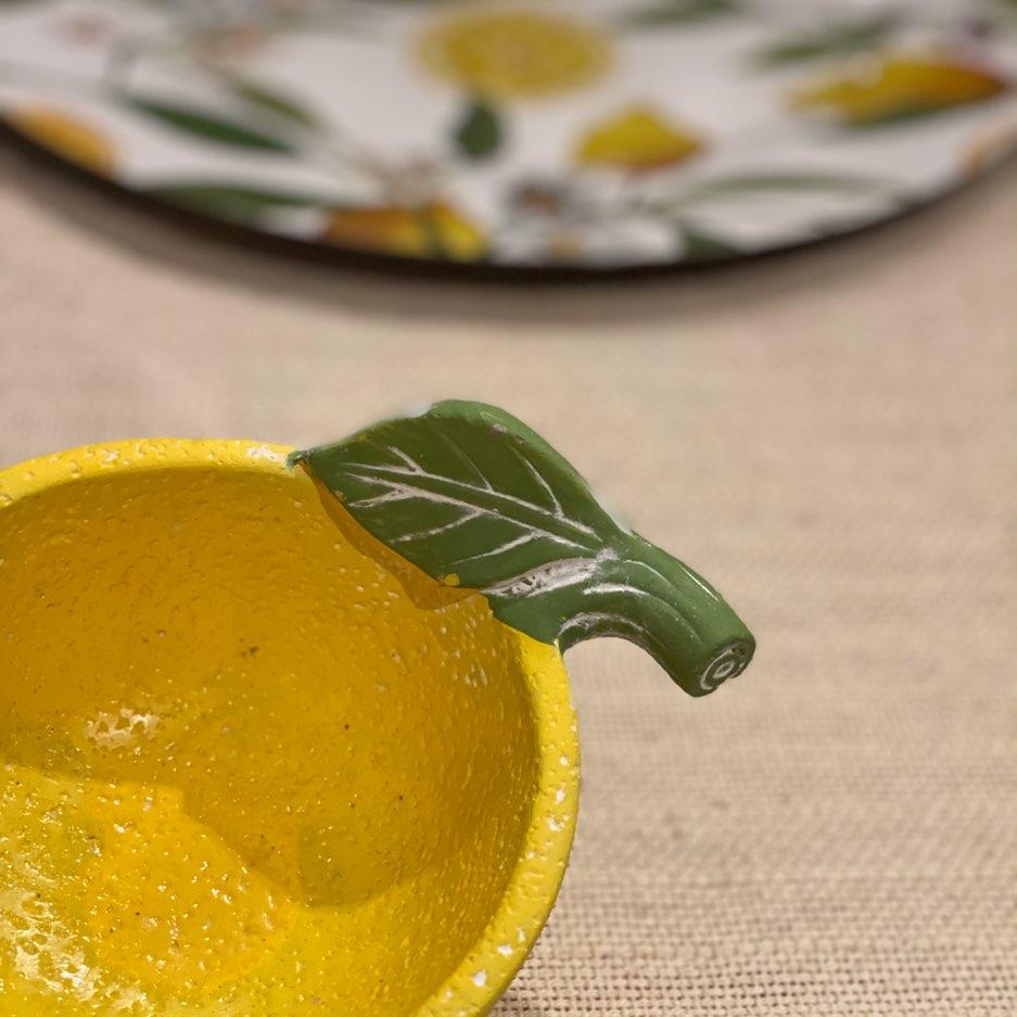 Bowl em Cerâmica de Limão Siciliano