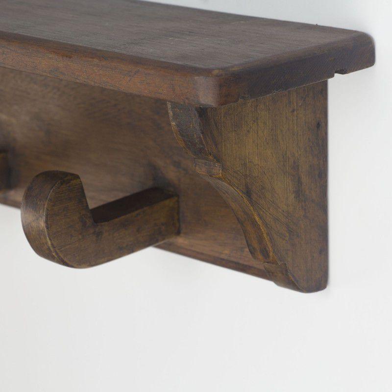 Cabidão 3 ganchos de madeira