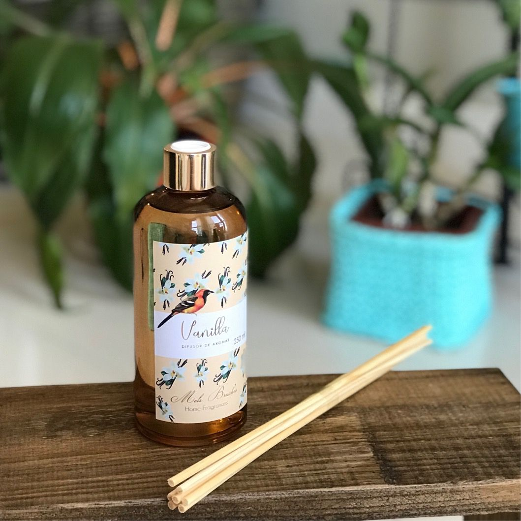 Difusor de Aromas Vanilla Mels Brushes