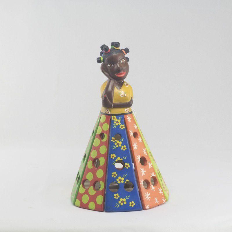 Luminária Boneca de Bantu PP