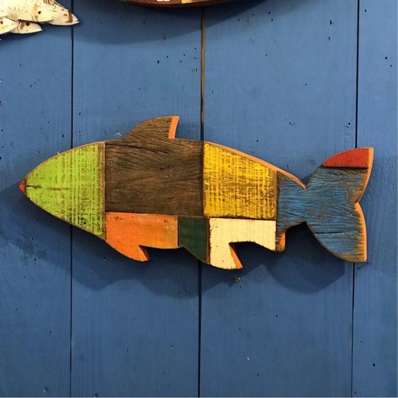 Peixe Rústico de Parede G