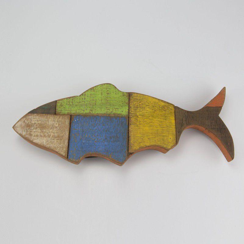 Peixe Rústico de Parede P