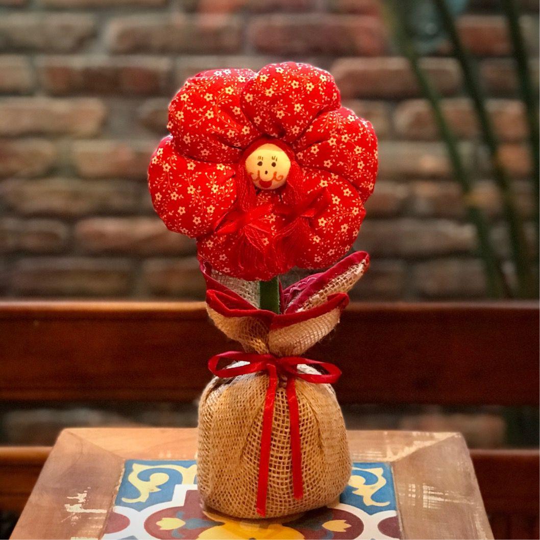 Peso de Porta Flor
