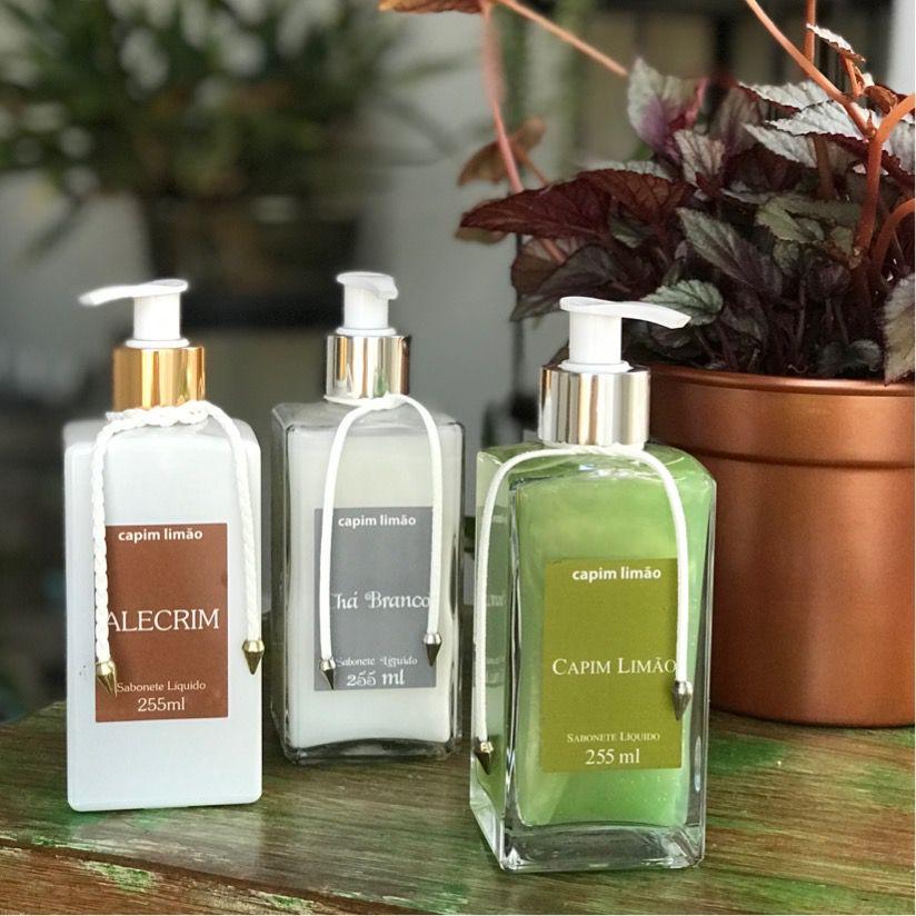 Sabonete Líquido Alecrim - Capim Limão