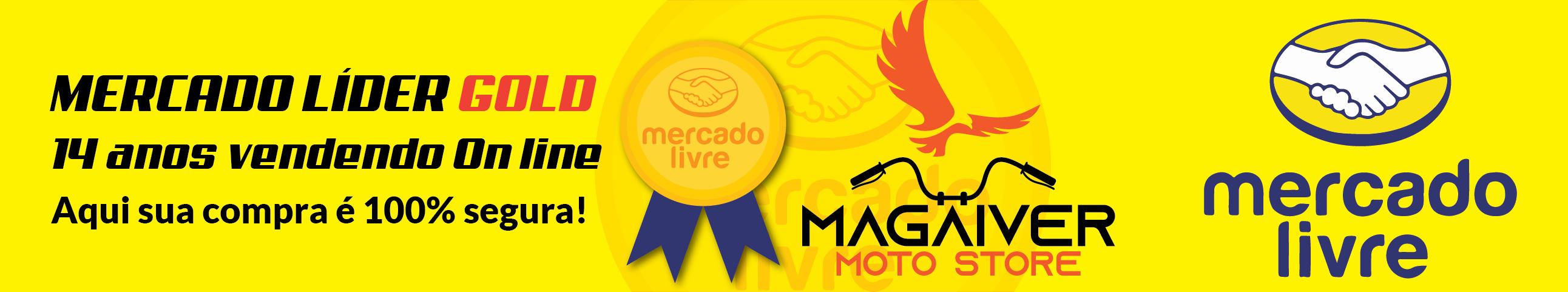 Somos Mercado Líder Gold no Mercado livre, 14 anos vendendo online.