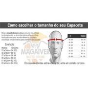 CAPACETE ESCAMOTEÁVEL PEELS URBAN2 SYNC 2 PRETO/ROSA