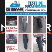 CJ PNEU DE MOTO GIBYS BYCITY3 DIANTEIRO 60/100-17 + TRASEIRO 80/100-14 USO COM CÂMARA