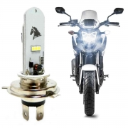 LAMPADA DE MOTO STALLION LED H4 5W COM STROBO 6500K SEM REATOR ST-FLASH-6