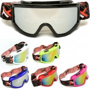 OCULOS CROSS OFF-ROAD MATTOS RACING MX LENTE ESPELHADA