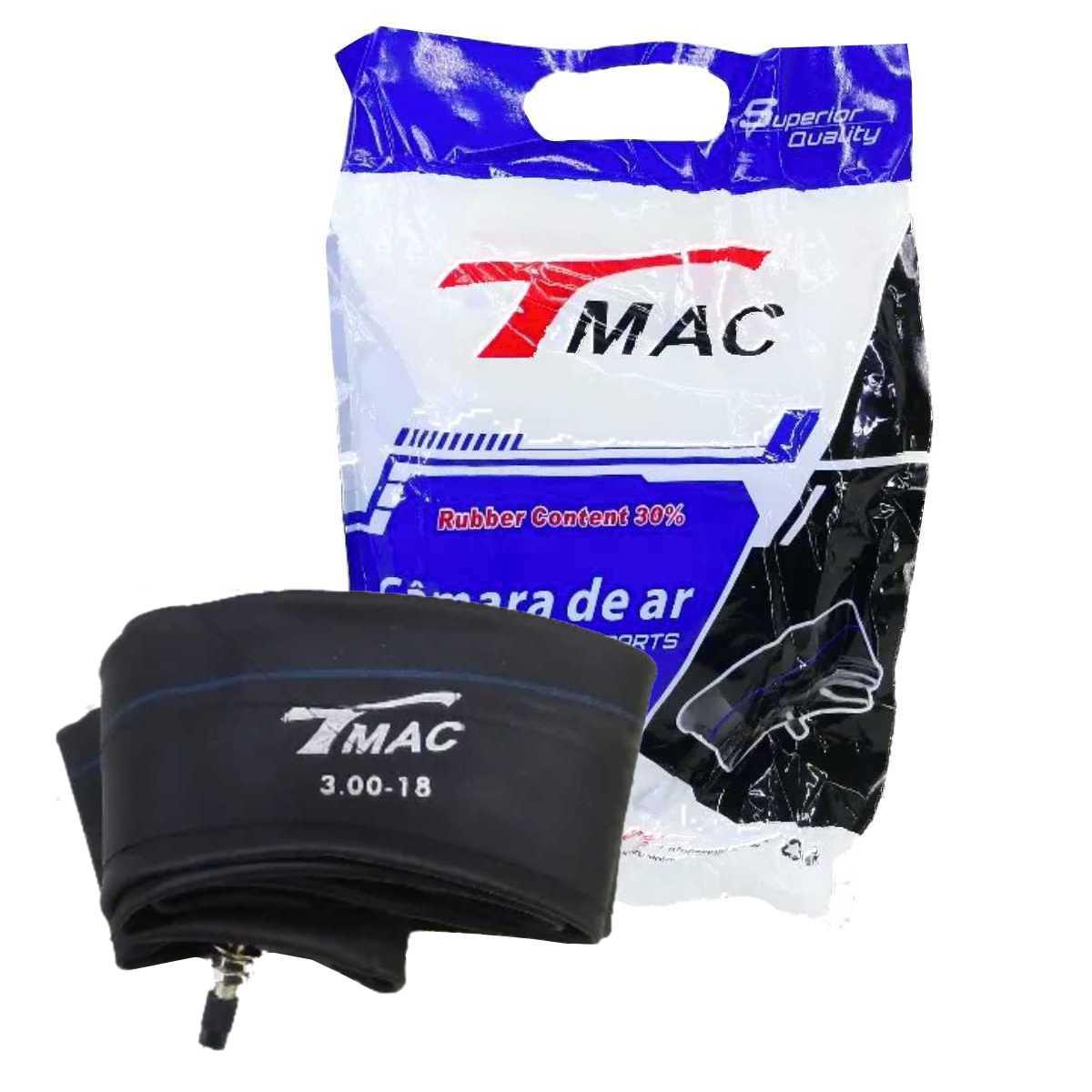 CÂMARA DE AR TMAC PNEU TRASEIRO ARO 14 MOTO BIZ 125 110 C100 DREAM POP 100 2.1/4-14 / 80/100-14