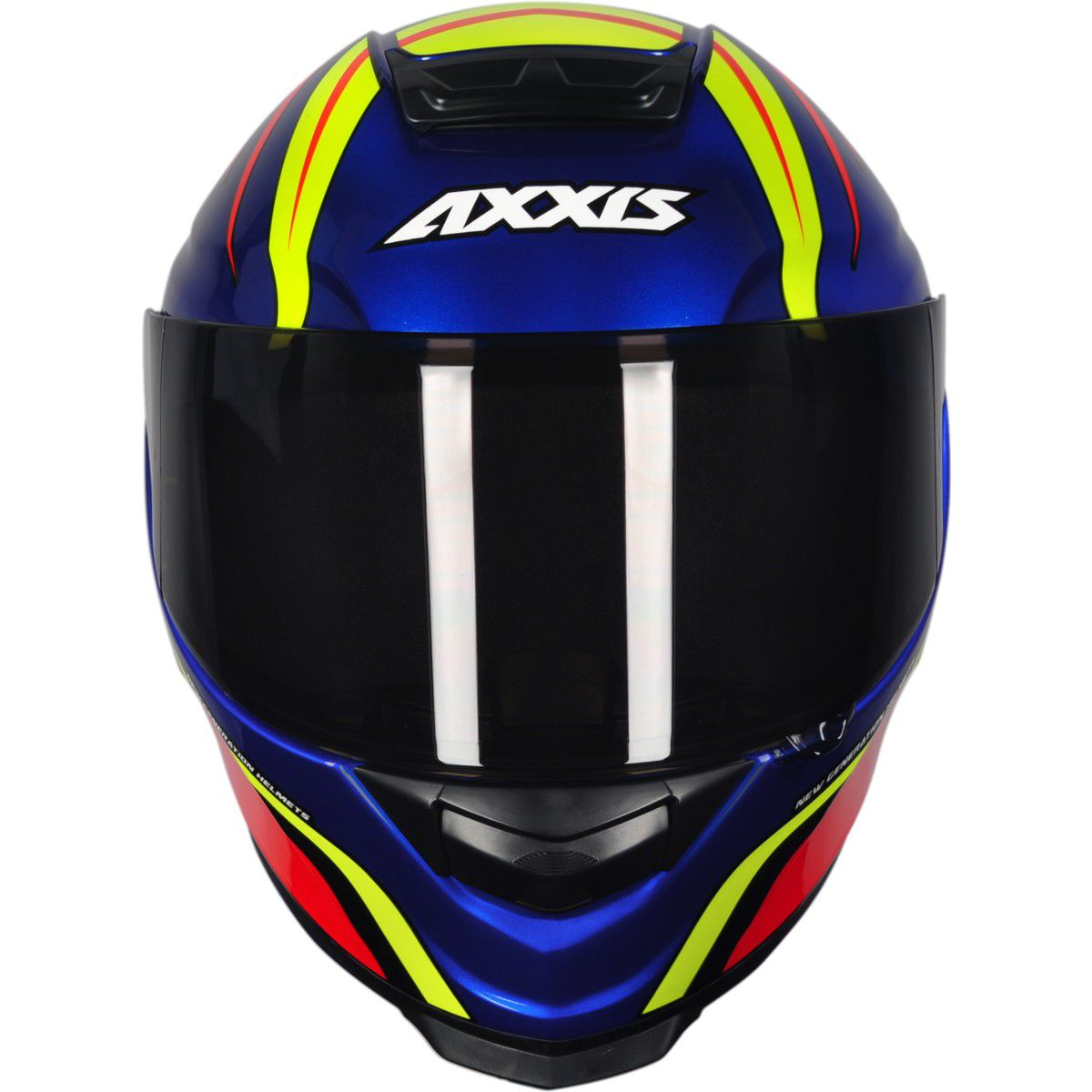 CAPACETE AXXIS EAGLE HYBRID GLOSS RACE BLUE