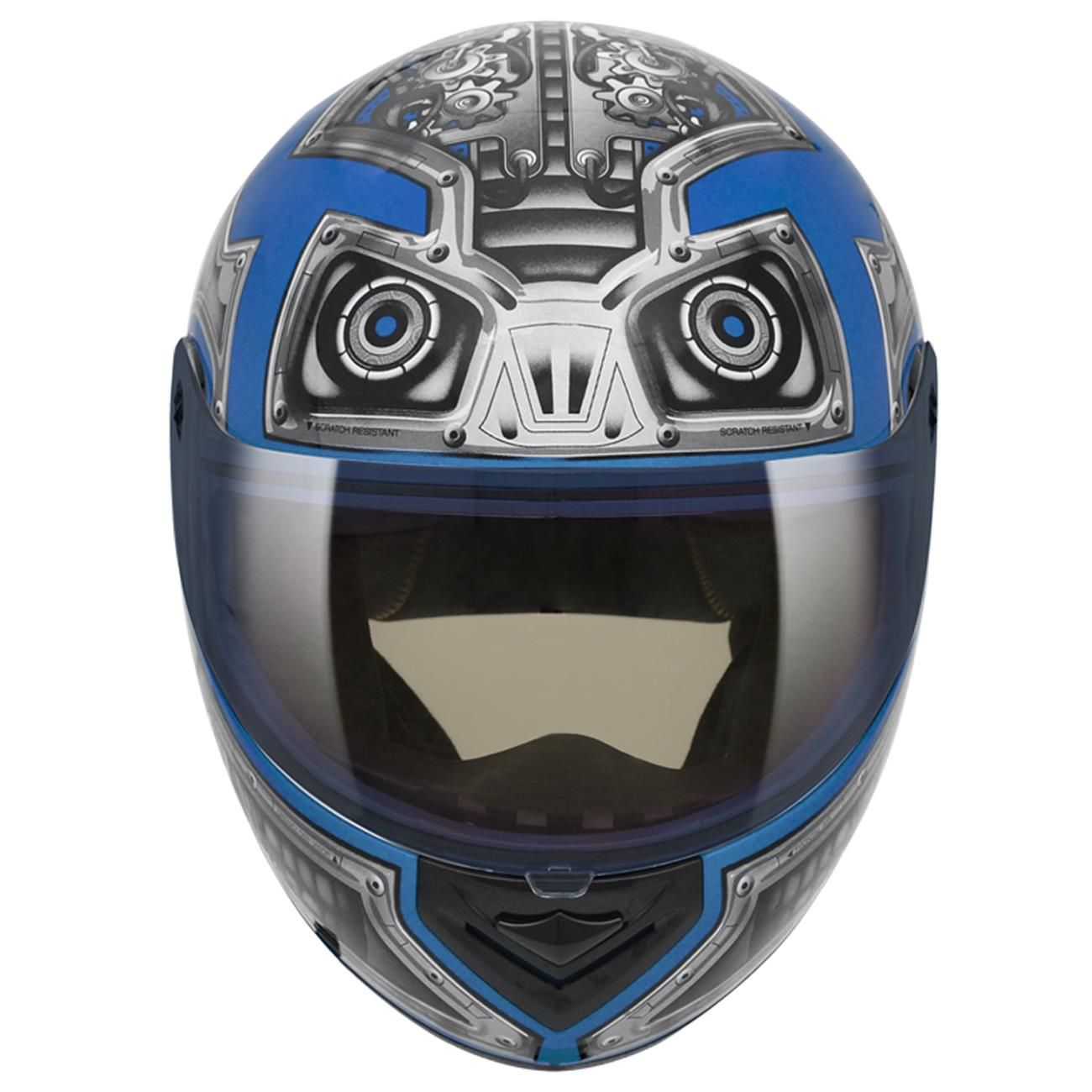 CAPACETE PEELS SPIKE ROBOT CIANO