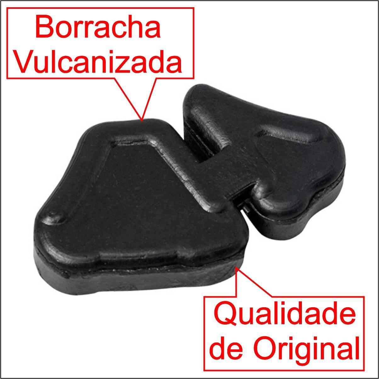 COXIM BRANDY CUBO TRASEIRO BORRACHA RODA MOTO HONDA BIZ 125 e BIZ 110i JOGO COM 4 PEÇAS