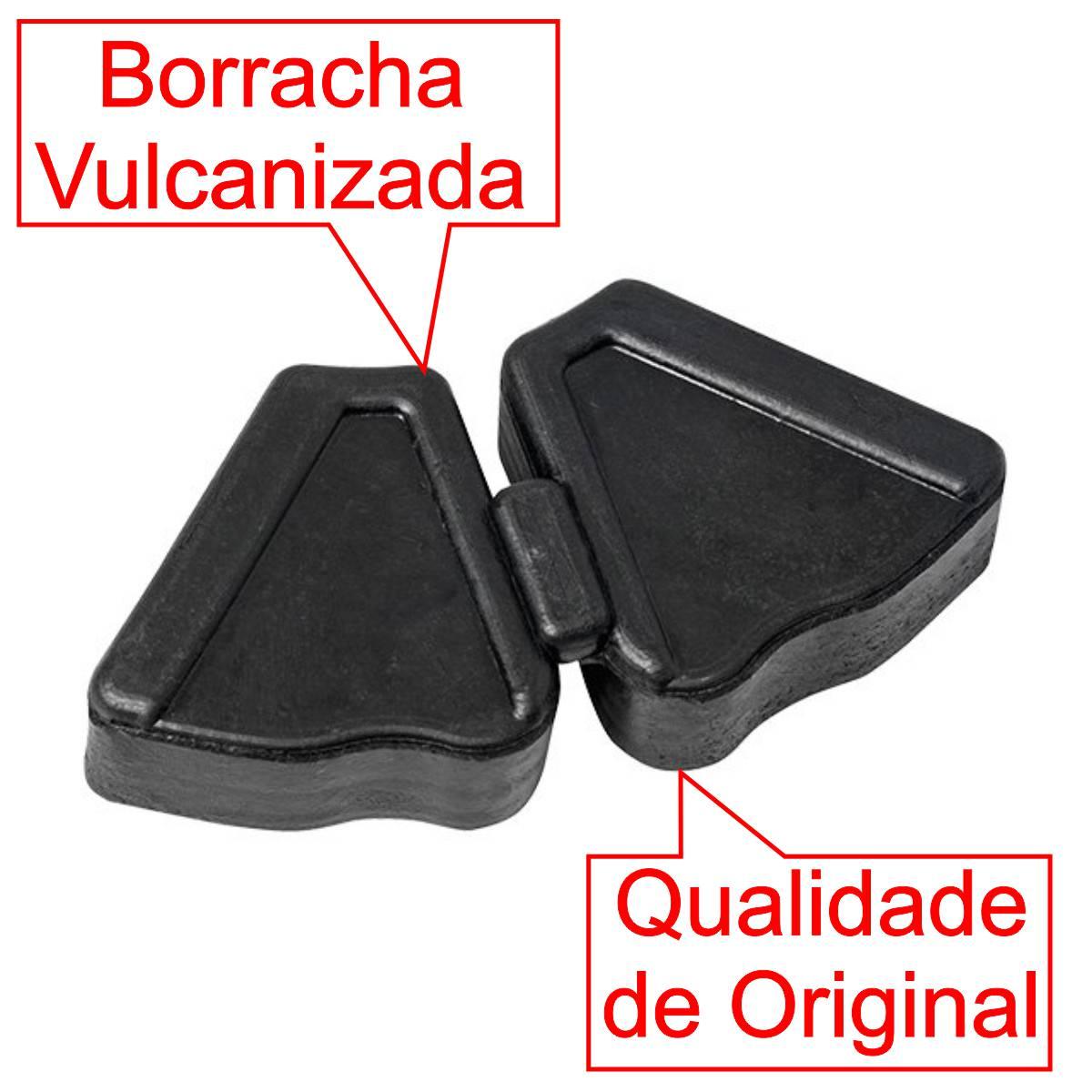 COXIM BRANDY CUBO TRASEIRO BORRACHA RODA MOTO HONDA C 100 BIZ JOGO COM 4 PEÇAS