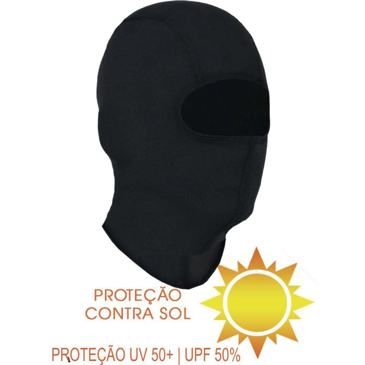 MANGUITO BASEÁGUA SEGUNDA PELE MANGAS DE PROTEÇÃO POLEGAR + BALACLAVA TÉRMICA TOUCA NINJA