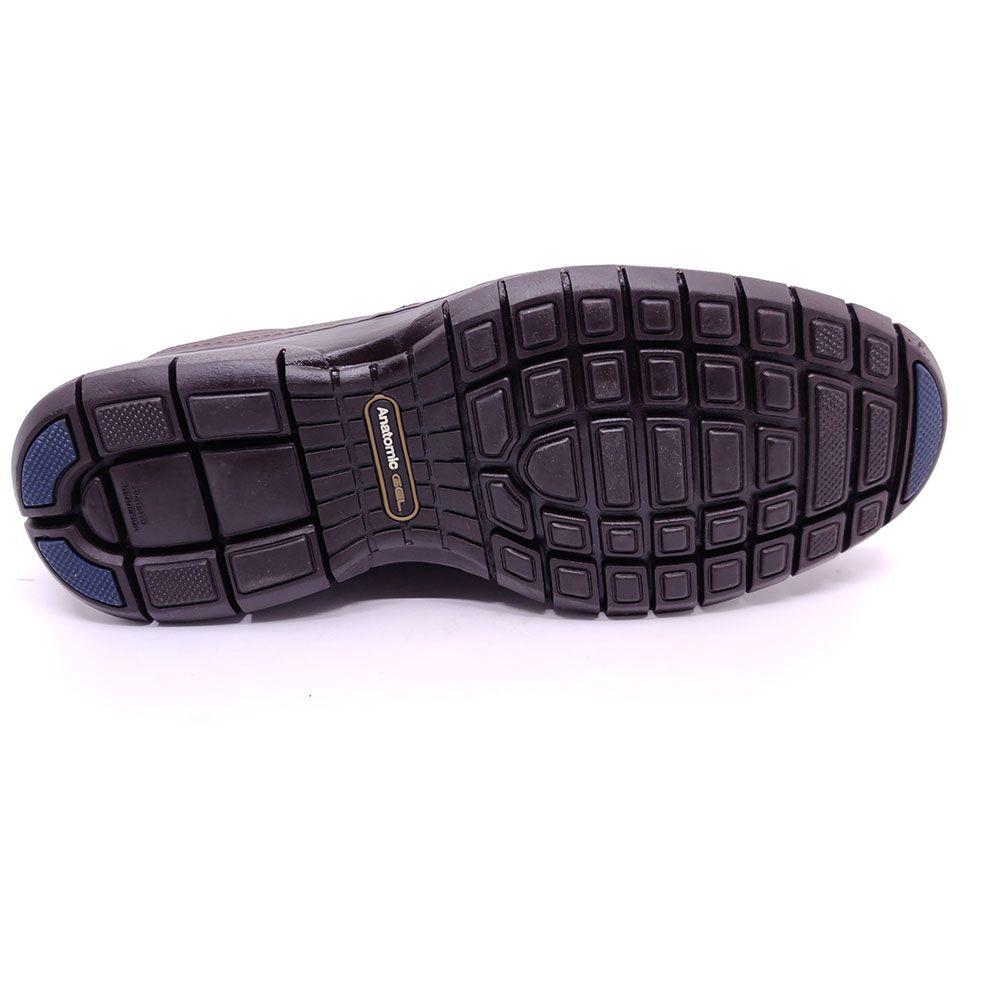 Sapato Anatomic Gel Couro - 7901