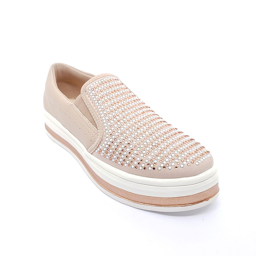 Tênis Casual Slip On Flatform Azaleia