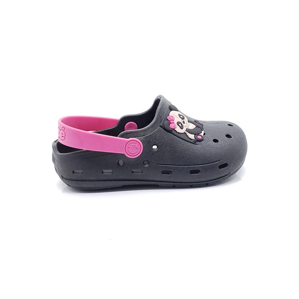Babuche/ Crocs Infantil Menina Pé com Pé 55610