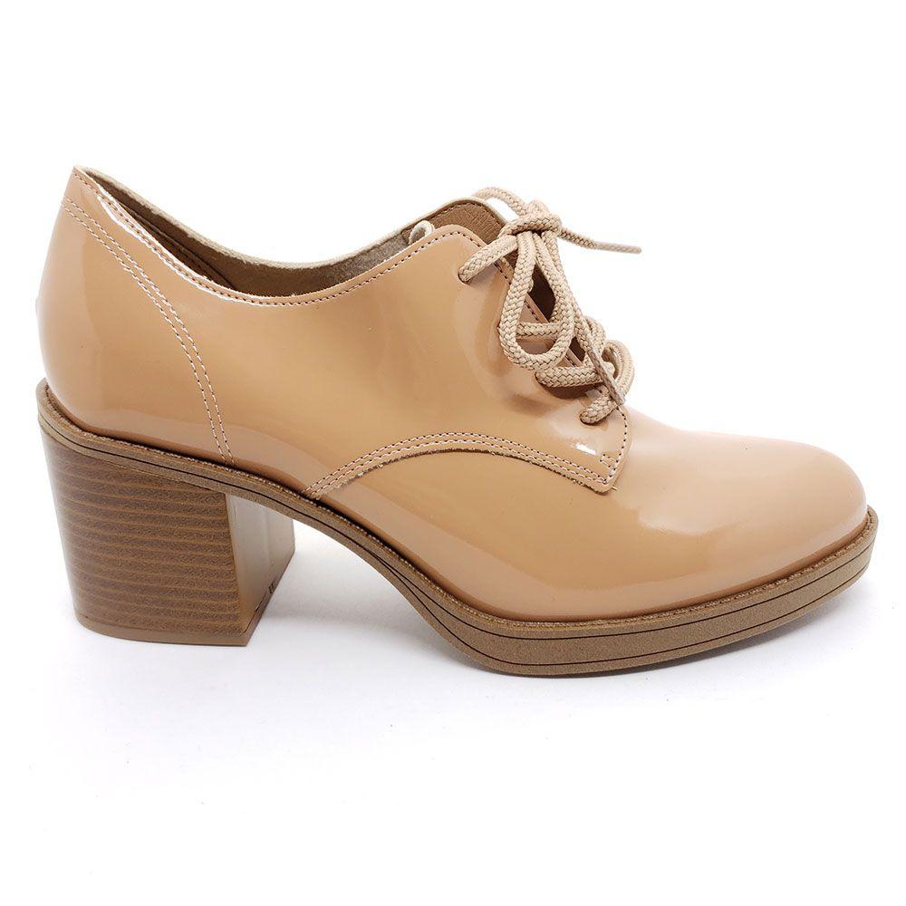 Sapato Oxford Feminino Salto Médio Beira Rio - 4225.101