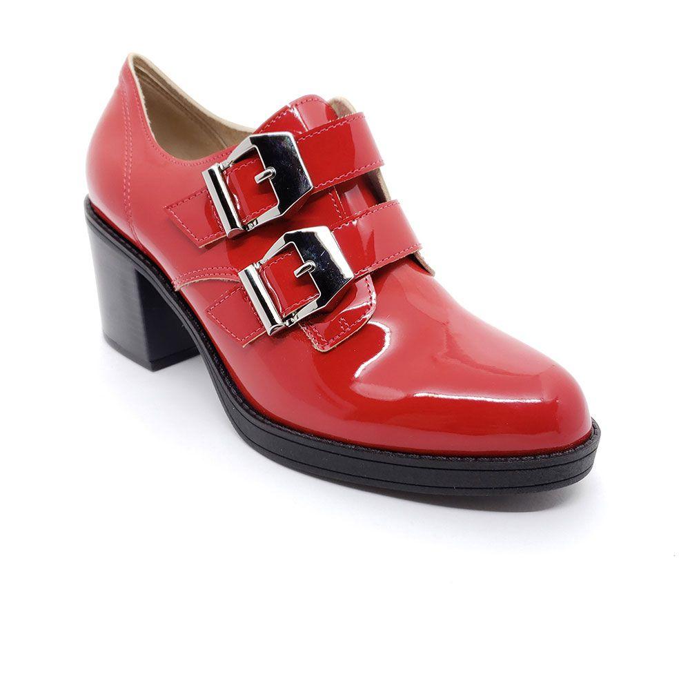 Sapato Oxford Fivela Salto Grosso Beira Rio - 4225.102