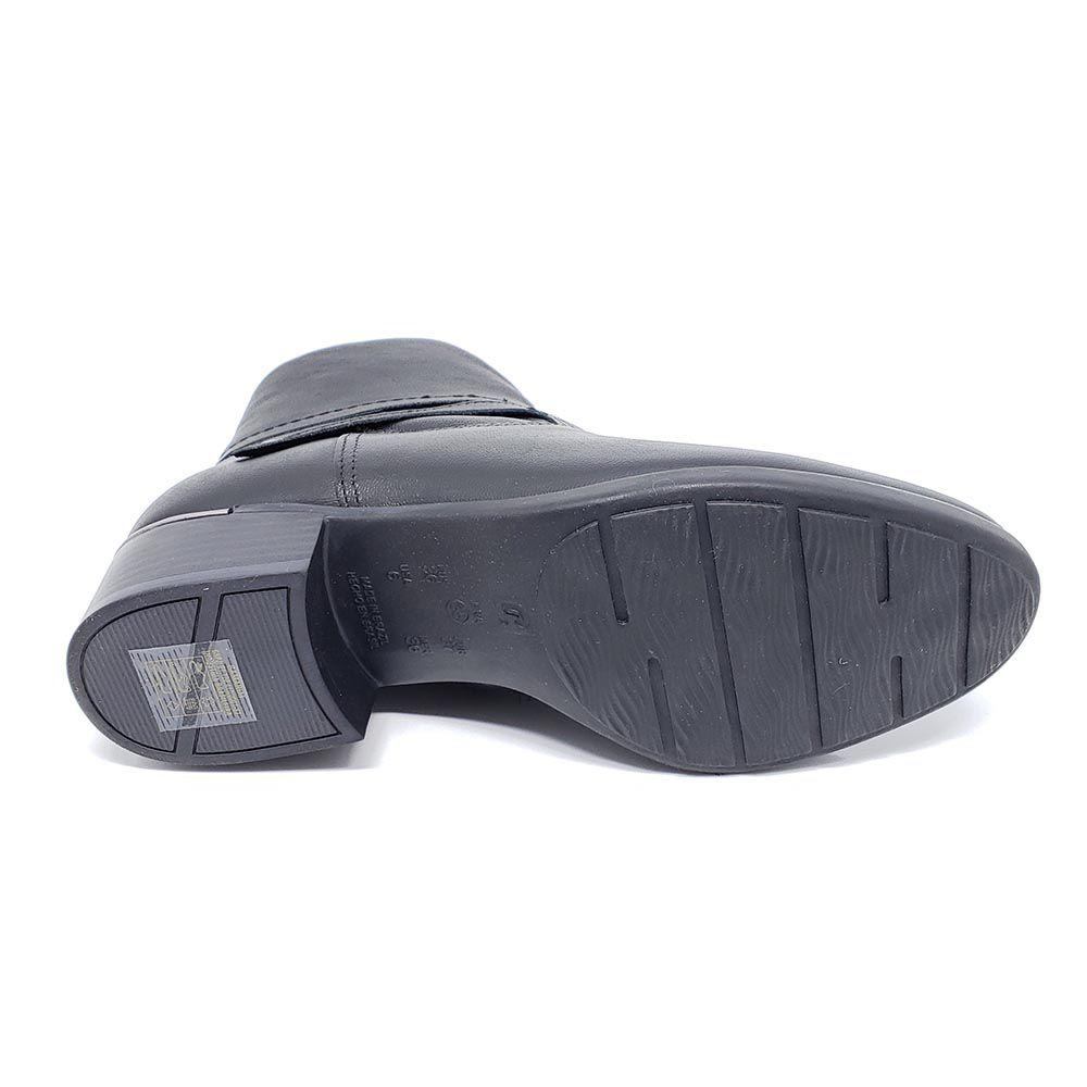Bota Comfortflex Cano Baixo Couro 2069301
