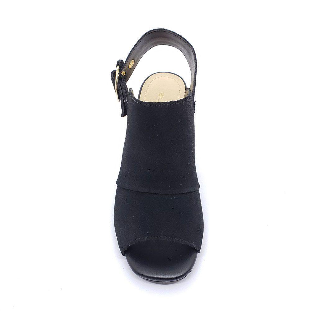 Sandália de Couro Lisa Bottero