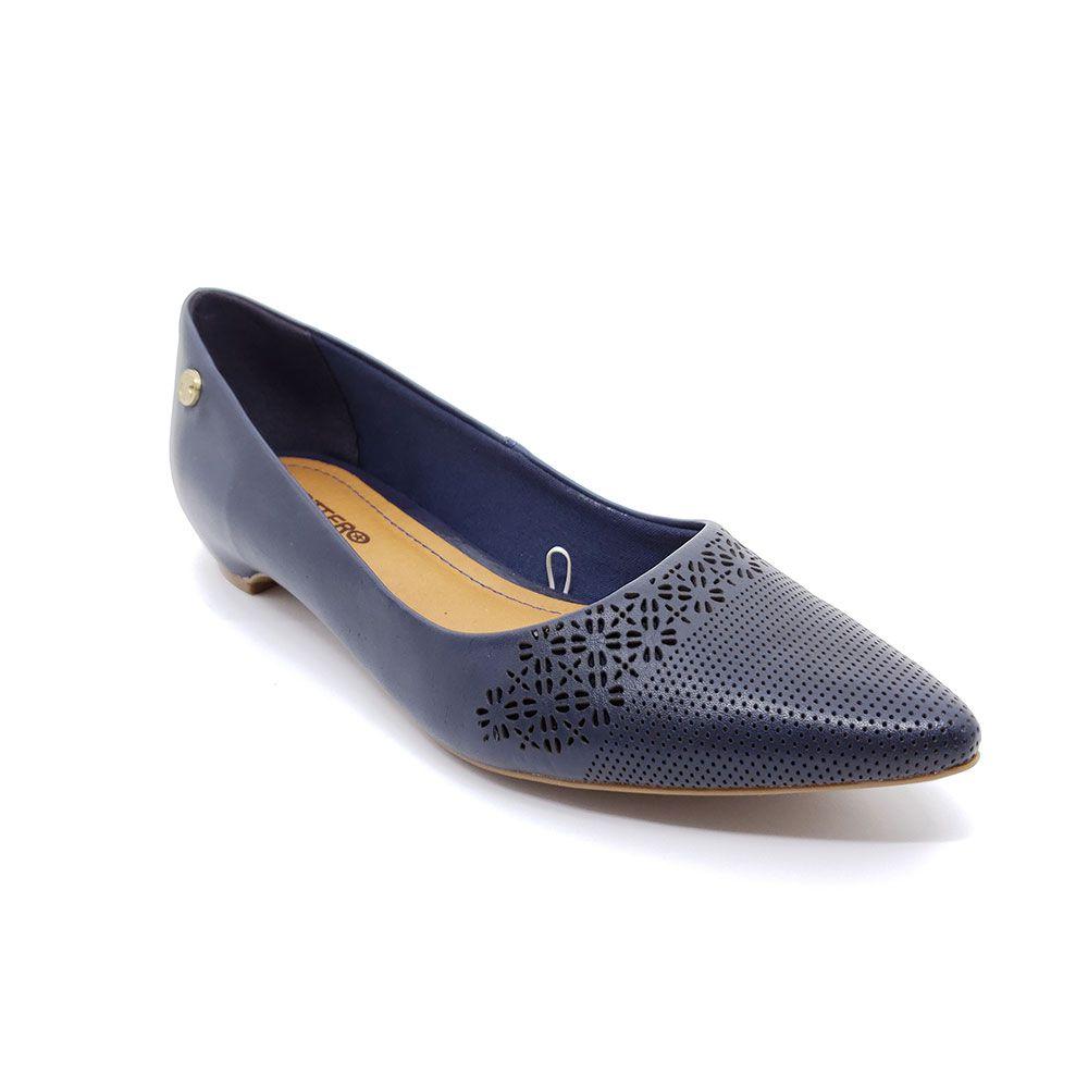 Sapato Bottero Salto Baixo Couro - 301301