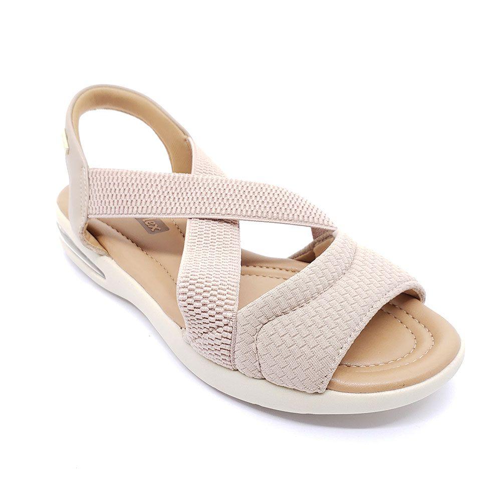 Sandália Comfortflex Lycra Soft
