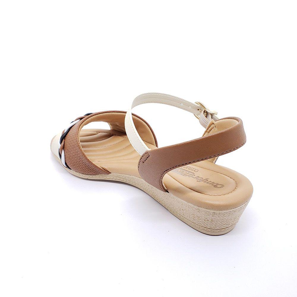 Sandália Feminina Trançada Comfortflex
