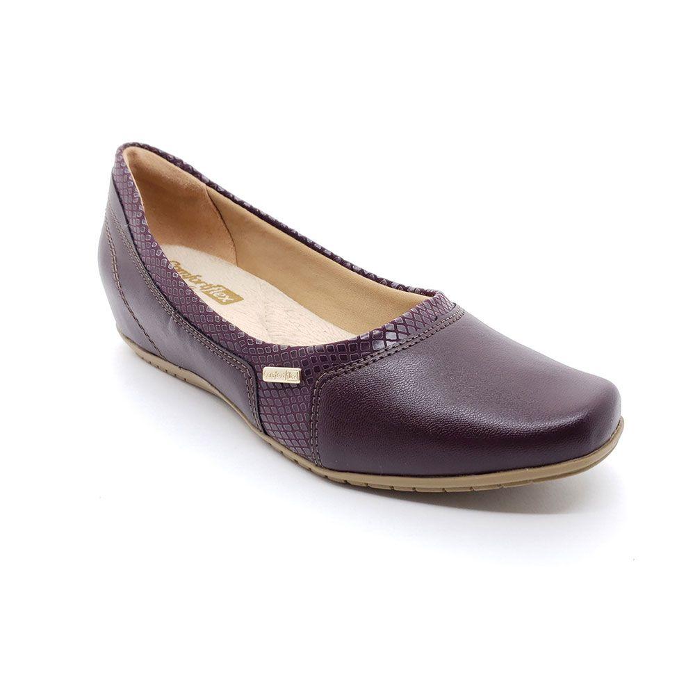 Sapato Anabela Comfortflex - 1994302