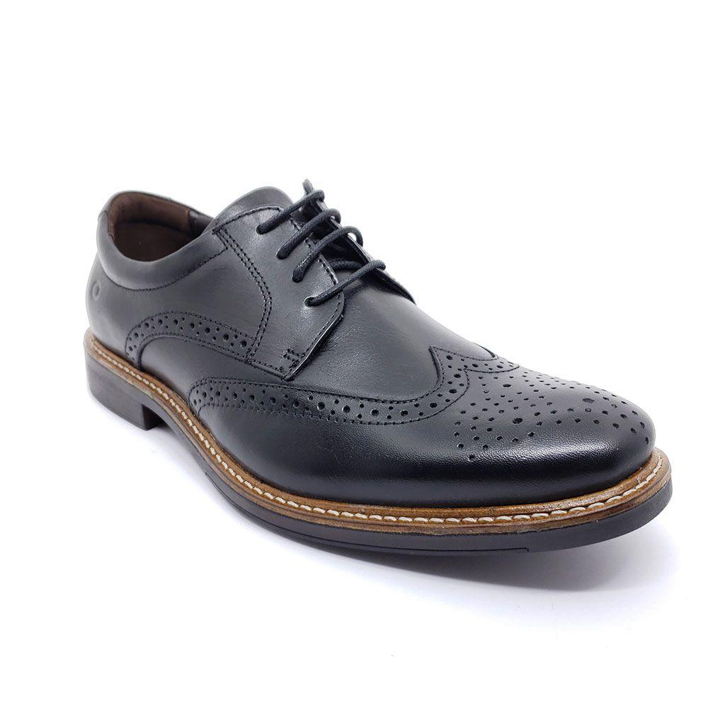 Sapato Democrata Couro Metropolitan - 222101