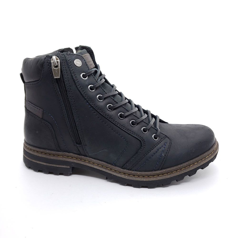 Bota Coturno Masculina Couro Freeway Absolut 1