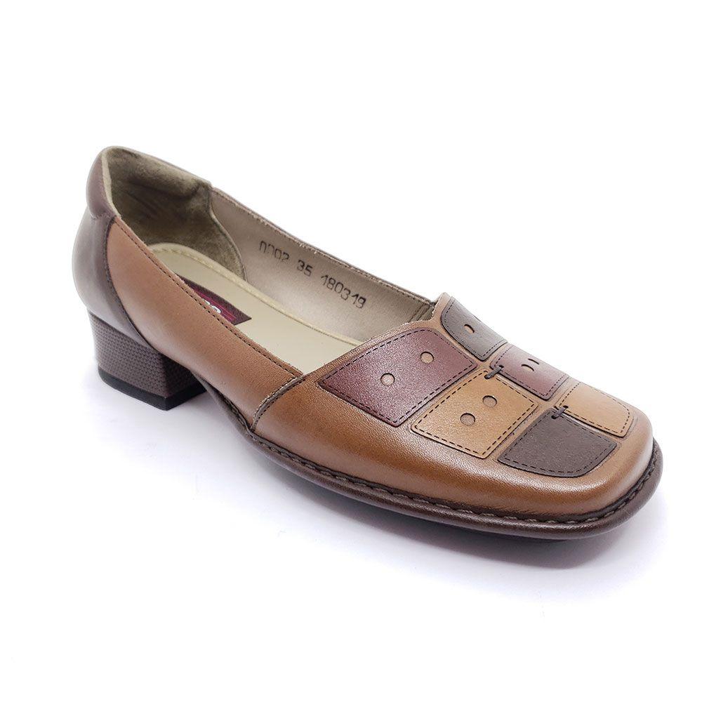 Sapato J Gean em Couro - DX0002