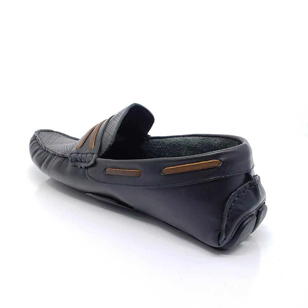 Mocassim Polo Footwear Couro 10005