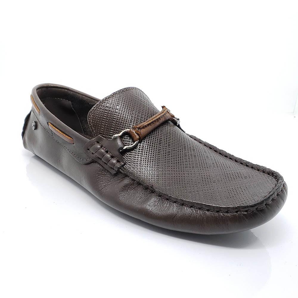 Mocassim Polo Footwear Couro 10007