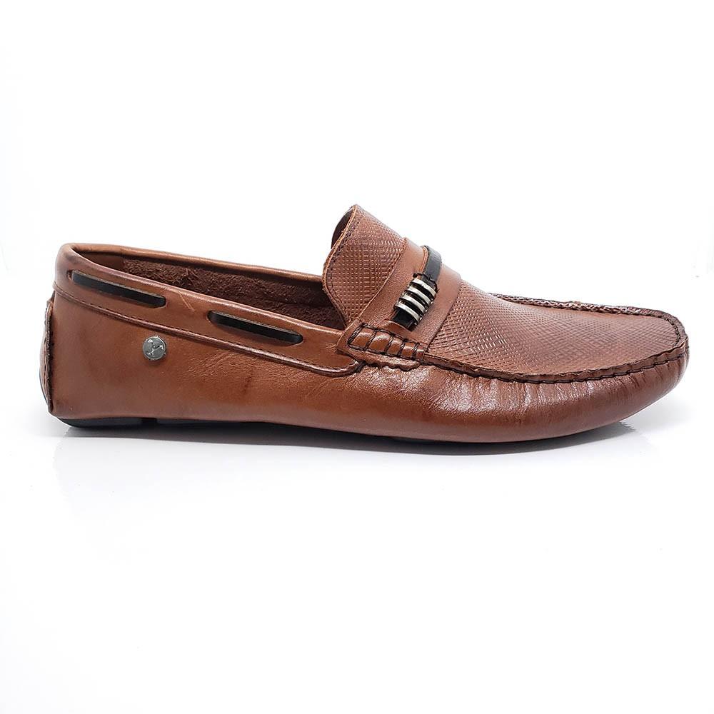 Mocassim Polo Footwear Couro 10011