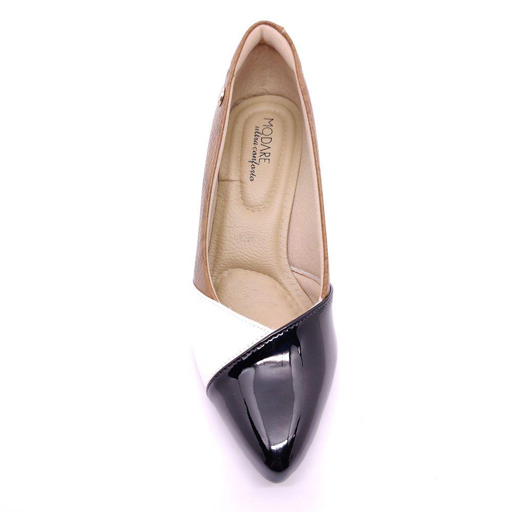 Scarpin Feminino Recorte Bico Fino Modare - 7013643
