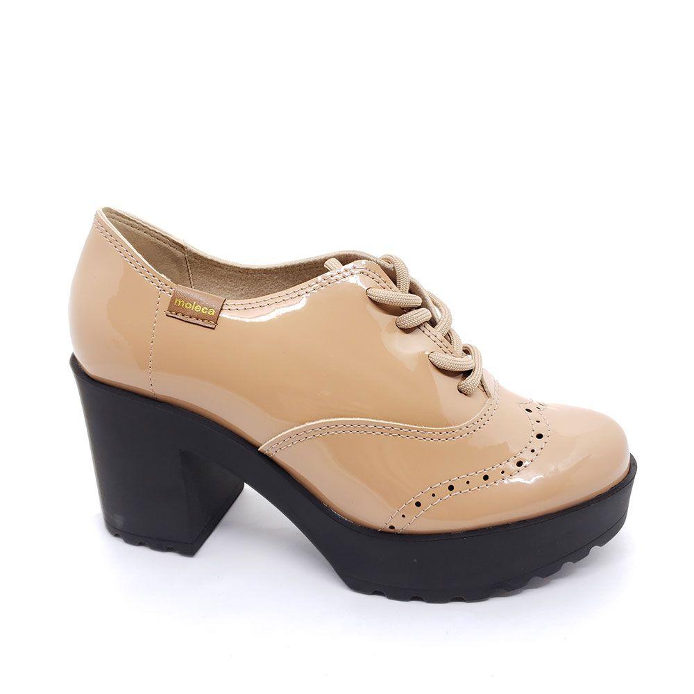 Sapato Oxford Moleca Tratorado - 5647107